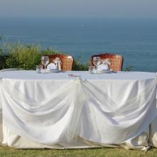Tavola Sposi con Vista - Matrimonio