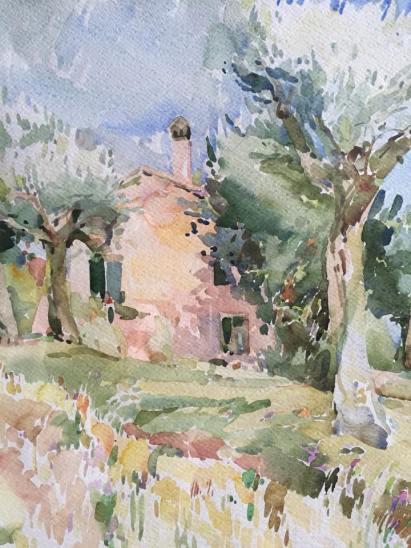 Villa Piccinetti - Quadro di Pierluigi Piccinetti